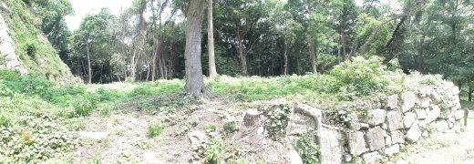 脇坂安治 母の居宅跡