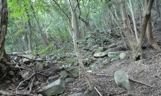東の登り石垣4