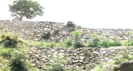 二段積みの石垣 1