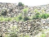 二段積みの石垣
