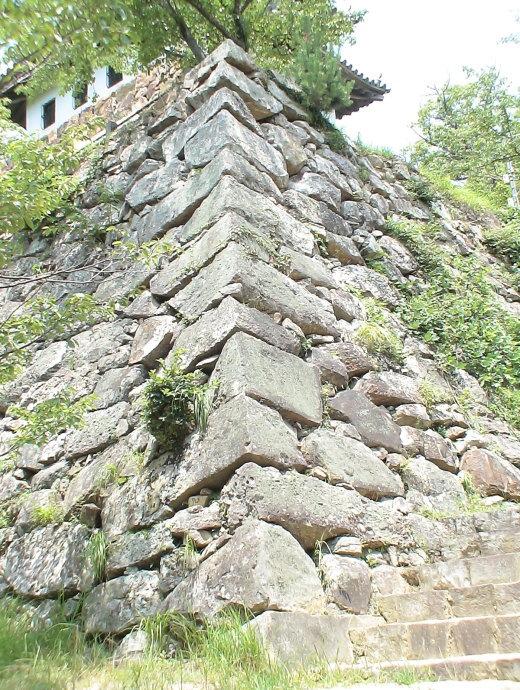 天守台の南西の隅角部 2