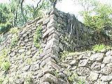 本丸台南面の石垣